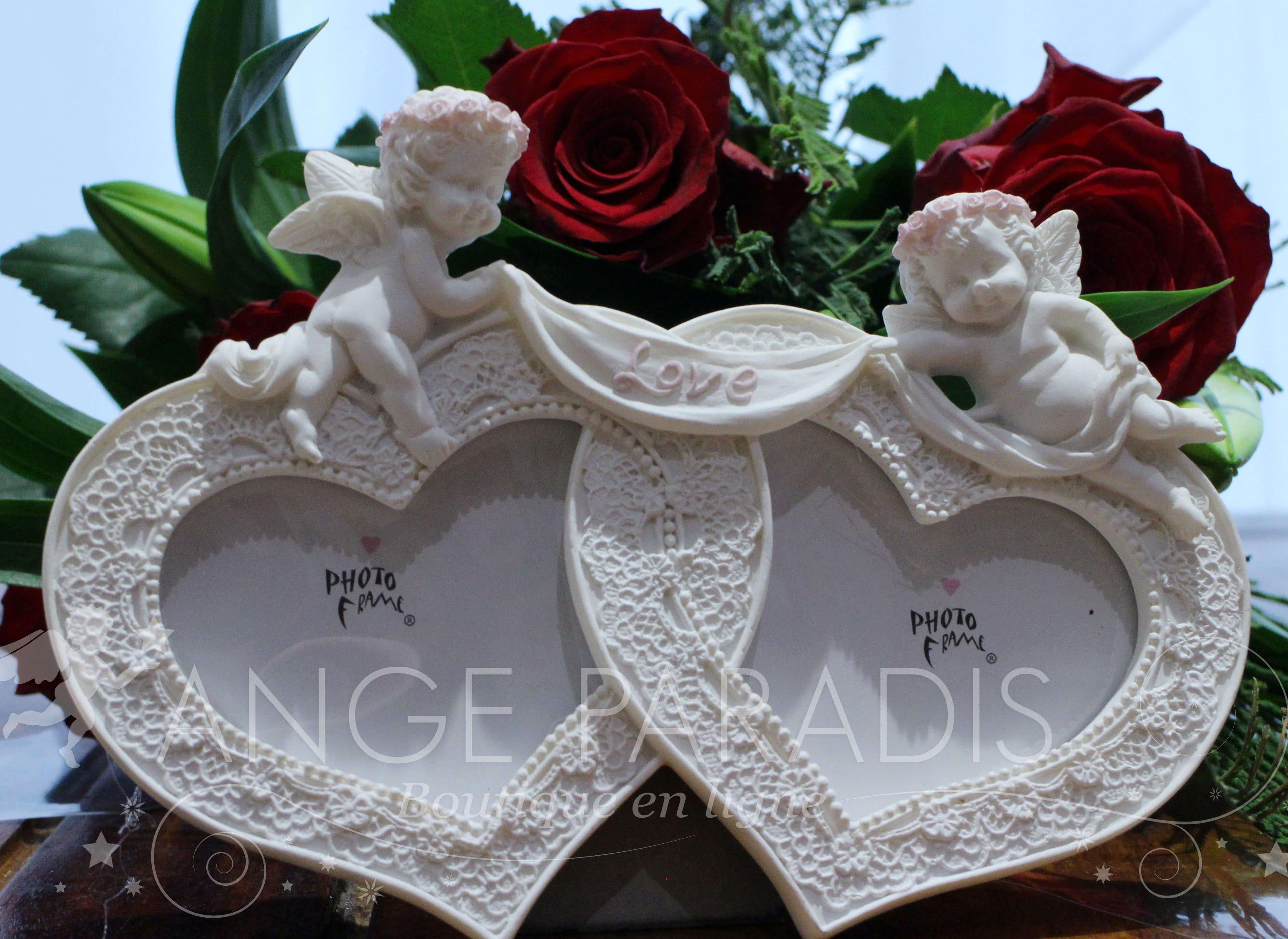 CADRE PHOTO ANGE POUR MARIAGE