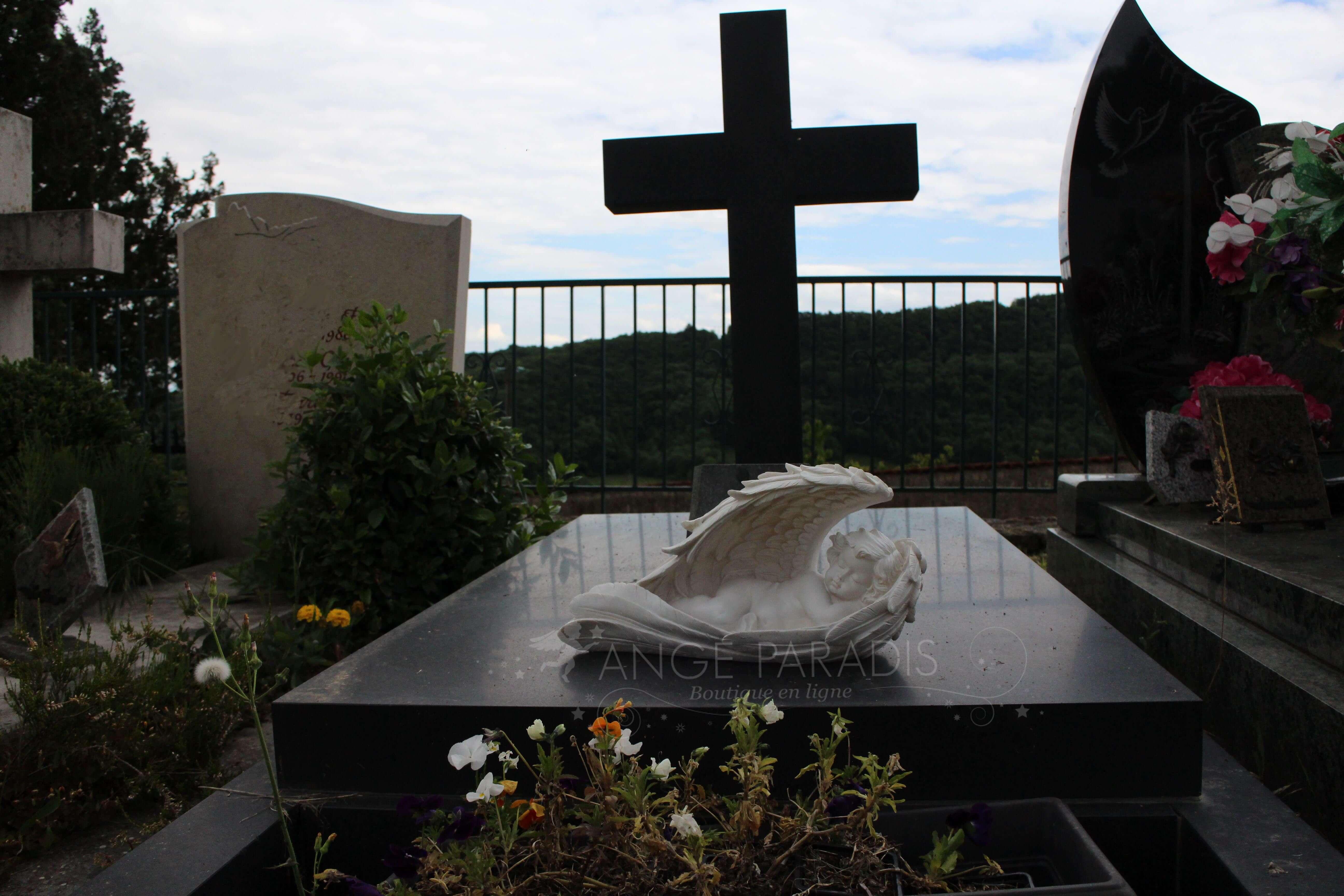 Anges pour cimetière