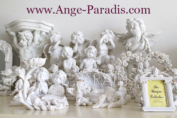 Figurine Ange Blanc et Statuette Ange en Vente en Ligne