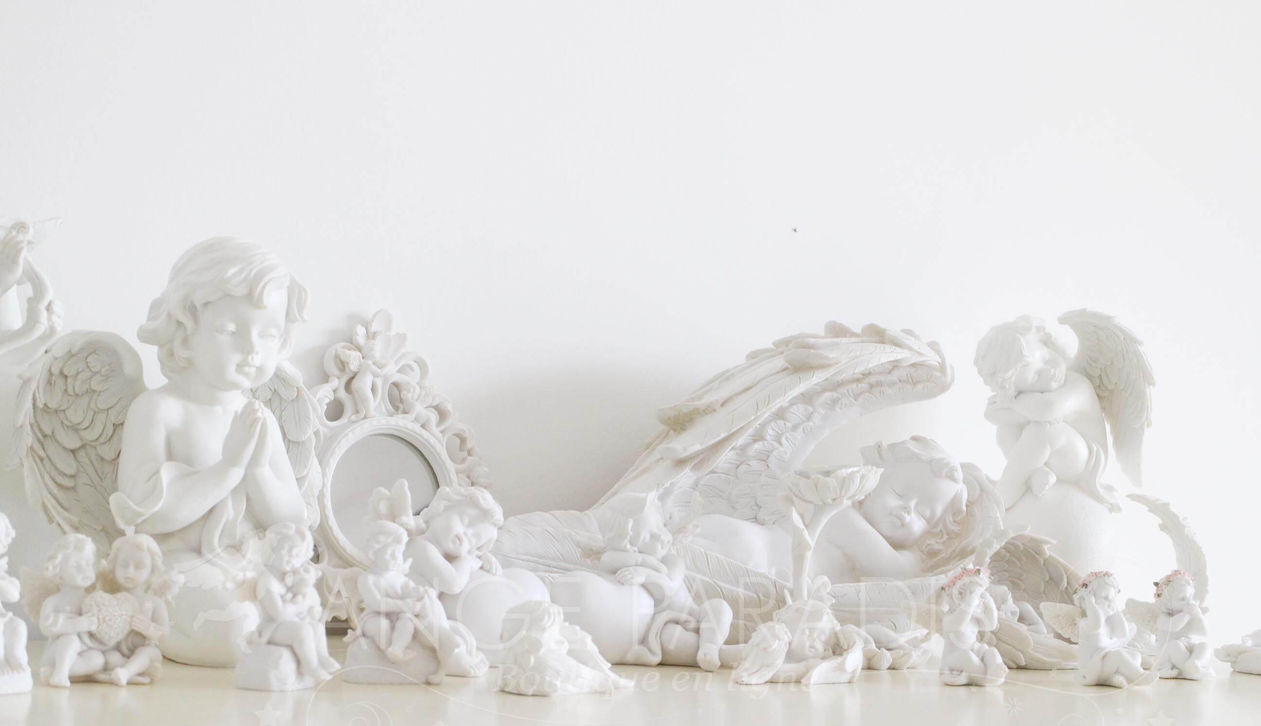 Des belles sculptures spirituelles, sculpture angélique